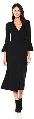 Rachel Pally Women's Luxe Rib Wrap Dress,XS