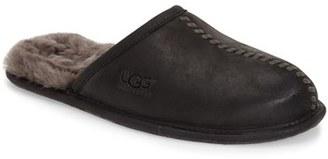 Men's Ugg Scuff - Deco Genuine Shearling Slipper $99.95 thestylecure.com