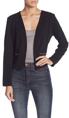 June & Hudson Long Sleeve Moto Jacket