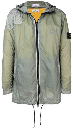 Stone Island hooded zipped coat