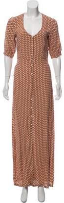 For Love & Lemons Short Sleeve Maxi Dress w/ Tags
