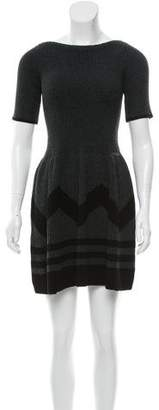 Louis Vuitton Wool & Cashmere-Blend Dress