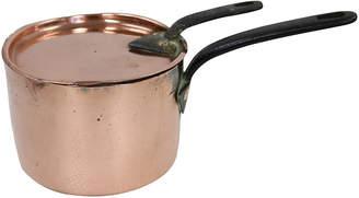 One Kings Lane Vintage Heavy Heavy English Copper Pan