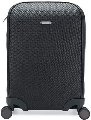 Ermenegildo Zegna textured suitcase