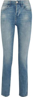 3x1 W4 Shelter Slim High-rise Slim Straight Jeans - Blue