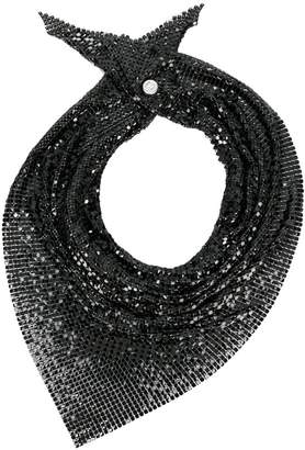 Paco Rabanne sequined scarf