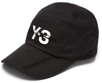 Y-3 Y 3 Signature Foldable Nylon Cap - Mens - Black
