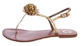 Tory Burch Cherilyn Metallic Thong Sandals
