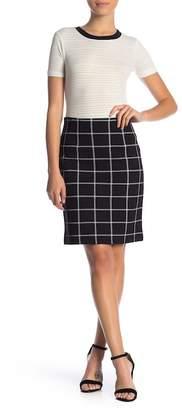 Amanda & Chelsea Pull On Ponte Pencil Skirt (Petite)