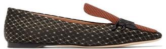 Fendi Ffreedom Square Toe Jacquard Loafers - Womens - Multi