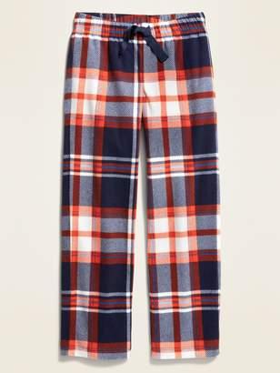 Old Navy Plaid Micro Performance Fleece Pajama Pants for Boys