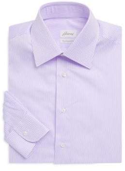 Brioni Thin Stripe Dress Shirt