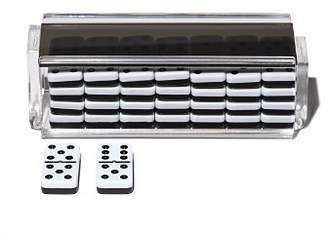 Luxe Dominoes Double 6 Domino Set