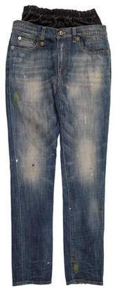 R 13 Slouch Jeans w/ Tags