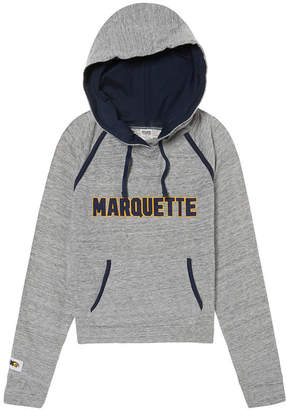 PINK Marquette University Bling Crossover Perfect Pullover