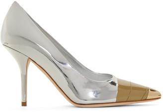 Burberry Silver Annalise Heels