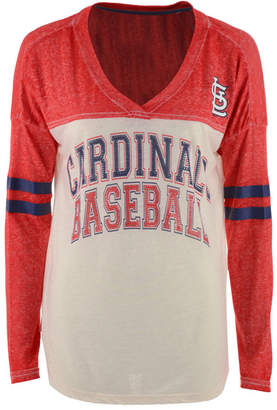 G-iii Sports Women's St. Louis Cardinals Field Position Long Sleeve T-Shirt