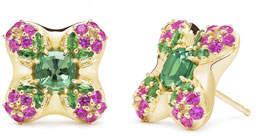 Paul Morelli 18k Gold Quad Blossom Stud Earrings