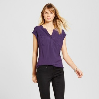 Merona Women's Utility Top $17.99 thestylecure.com