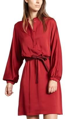 Tara Jarmon Satin Dress