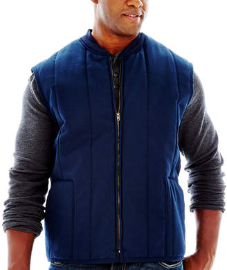 JCPenney Red Kap Quilted Work Vest Big & Tall