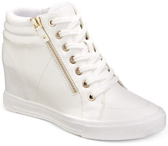 6c6dbe17a3a Aldo Kaia Lace-Up Wedge Sneakers, Women Shoes