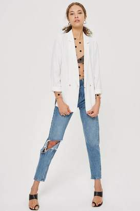 Topshop Soft double breasted blazer