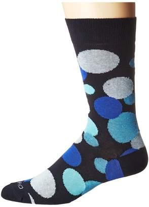 Etro Large Polka Socks Men's Crew Cut Socks Shoes