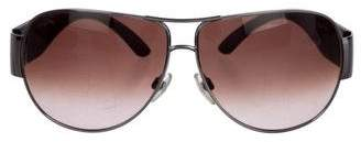 Chanel CC Aviator Sunglasses