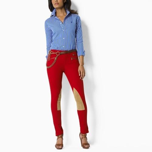 Ralph Lauren Blue Label Hayley Striped Poplin Shirt
