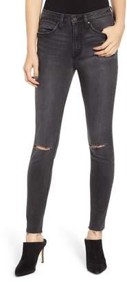 Wrangler Ripped High Waist Skinny Jeans