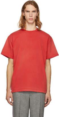 John Elliott Red Replica T-Shirt