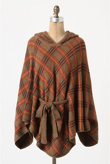 Hallstatt Plaid Cape