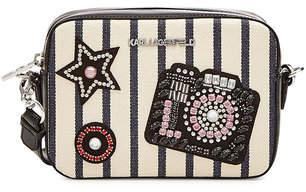 Karl Lagerfeld K/Klassik Sparkle Camera Bag