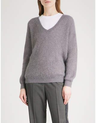 Brunello Cucinelli Metallic knitted jumper