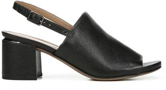 Franco Sarto Classic Leather Open-Toe Sandals