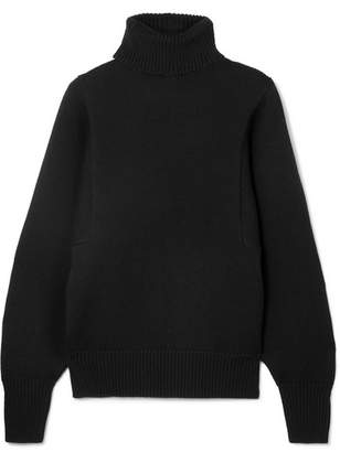 The Row Meredith Wool Turtleneck Sweater - Black