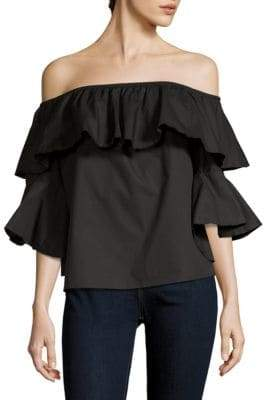 Bonning Off-The-Shoulder Cotton Top