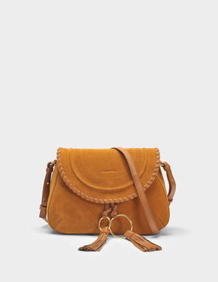See by Chloe Polly Messenger Bag in Caramelo Leather and Suede