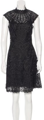 Karen Millen Embroidered Mini Dress $125 thestylecure.com