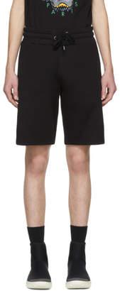 Kenzo Black Logo Lounge Shorts