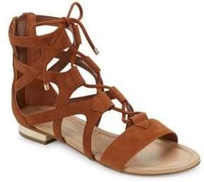 Saks Fifth Avenue Danos Leather Gladiator Sandals