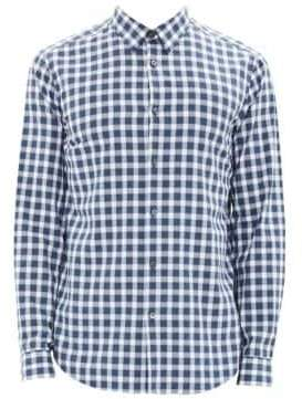 Theory Irving Light Flannel Button-Down Shirt