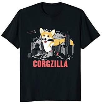 "Corgi ""Corgzilla"" Funny Dog Lover T-shirt"