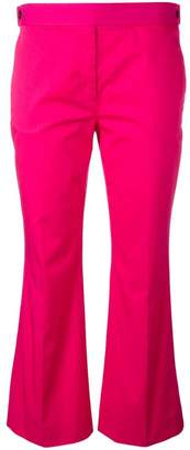 No.21 flared cropped trousers