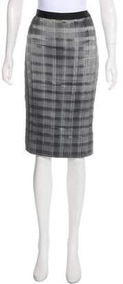 Alexander Wang Satin Plissé Skirt