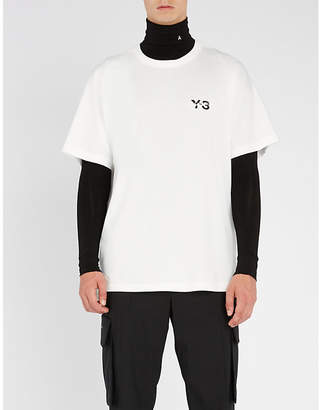 Y-3 Y3 Signature cotton-jersey T-shirt