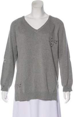 Thomas Wylde Distressed Knit Sweater