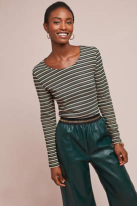 Nümph Metallic Striped Top