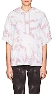 Electric & Rose Women's Tie-Dyed Terry Hoodie - Pink